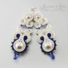 675  Anna Lipowska LiAnna Biżuteria sutasz   soutache  www.lianna.blox.pl Soutache Earrings, Jewelery, Goodies, Anna, Projects, Diy, Wedding, Fashion, Boiler