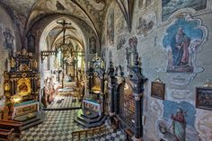Stary Sącz, kościół XIV w.
