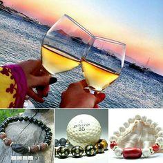 Enjoy Summer!!! Get 10% discount with code: INSTA10 AlterDeco.eu Bracelets For Men, Beaded Bracelets, Enjoy Summer, Glass, Self, Guy Bracelets, Drinkware, Pearl Bracelets, Glas