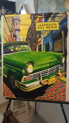 Cuba art Www.etsy.com/Artforhealth