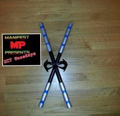 Nightwing Tutorial - How to make Escrima Sticks
