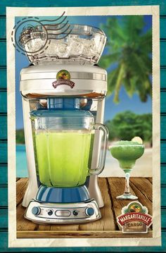 #MGVContest Margaritaville® Key West™ Frozen Concoction Maker® does everything for you, including shaving the ice and then automatically blending it with your favorite ingredients. [Promotional Pin]