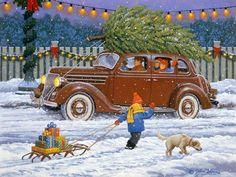 Le cartoline di Natale di John Sloane .