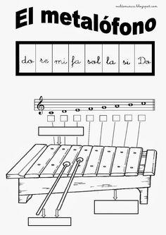El metalofóno es un instrumento musical compuesto por una serie de láminas de metal, colocadas sobre una caja de resonancia, cada una de el... Cup Song, Music Theory Worksheets, Music Crafts, Music School, Music Activities, Music Store, Elementary Music, Music For Kids, Classroom Displays