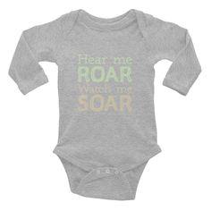 Roar & Soar Infant long sleeve one-piece