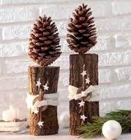 Bildergebnis für hochzeitdeko holz weihnachten
