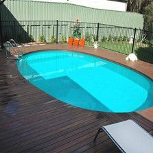 Oval Above Ground Pools, Above Ground Swimming Pools, In Ground Pools, Wooden Pool Deck, Paver Deck, Decking, Backyard Pool Designs, Pool Landscaping, Paradise Pools