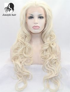 43.00$  Buy now - http://alie8h.worldwells.pw/go.php?t=32627722593 - High quality Blonde long hair synthetic hair wigs lace front wig body wave heat resistant wig for african american women