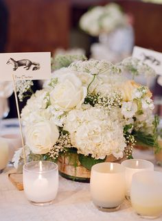 Roses, queen anne's lace, white hydrangea, baby's breath