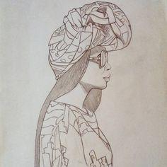 Badass Genius — Start for pattern #art #artwork #nawden #sketch...