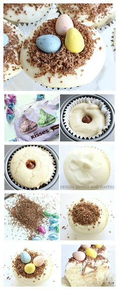 Adorable Easter Cupcakes With A Surprise Inside!