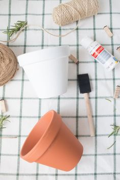 Happy 1st day of September! Can you believe it's already September and that the holidays are just around the corner? I can't wait to start crafting away for Halloween, Thanksgiving, and CHRISTMAS!! I'm getting a little ahead of myself, so lets focus on this diy painted terracotta pot project I have for you today.