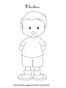 La maestra Linda: La mia famiglia Easy Cartoon Drawings, Easy Drawings For Kids, Drawing For Kids, Simple Cat Drawing, Little Boys Rooms, Sunday School Coloring Pages, Japanese Bag, Kids Scrapbook, Simple Cartoon