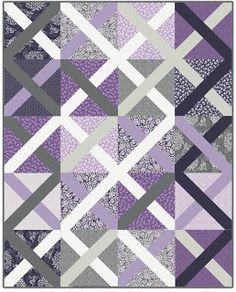 Free Pattern Day:  Plus and 'X' quilts