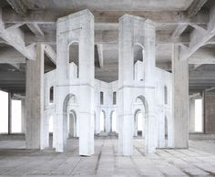 Noemie Goudal . in search of the first line IV, 2014