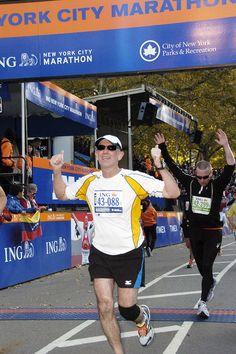 ING NYC Marathon 2011 finish line.