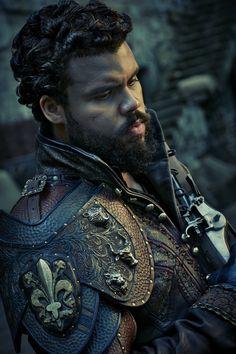 The Musketeers - Howard Charles as Porthos