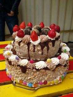 Retro, nut ,cake , recipe by my  grandmother