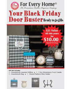 GET ALL THIS FOR $10!!!!  WINTERBERRY SCENT  http://christinem.foreveryhome.net/  ...