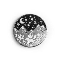 Mountain Enamel Pin