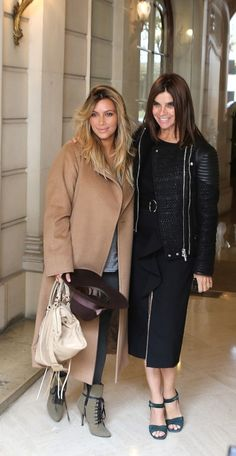 love the new blond hair on Kim K! I think the dark roots softens the whole look and makes it work for her skin tone