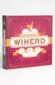 Wine Tasting Board Game available at #Nordstrom. This would make a great gift for someone i know well! :)