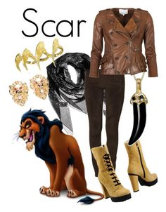 Designer Clothes, Shoes & Bags for Women Disney Character Outfits, Disney Themed Outfits, Character Inspired Outfits, Disney Bound Outfits, Disney Dresses, Scar Halloween Costume, Halloween Costumes Online, Lion King Costume, Cute Everyday Outfits
