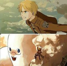 Attack on Titan X Hetalia