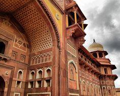 Agra-Fort, Agra, India; by toyaguerrero, via Flickr