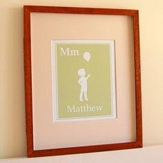 personalized nursery art