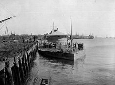 USS Lehigh, Passaic Class Monitor. Like several of her type, Lehigh was reactivated during the Spanish American War and used for coastal defense.