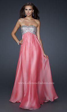 Designer Prom Dress by La Femme 17513 at PromGirl.com