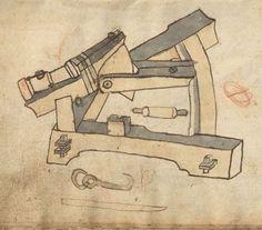 Feuerwerkbuch etc. 1462-63 Hs 719  Folio 8r