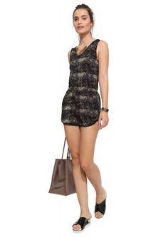 Cute N' Cozy Romper in Black | Necessary Clothing