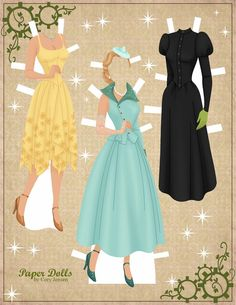 wicked | paper dolls by cory