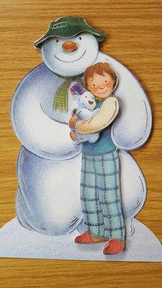 Check out this item in my Etsy shop https://www.etsy.com/uk/listing/257040993/the-snowman-free-standing-christmas-card