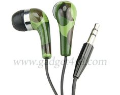 Camouflage Earbuds.... I'D NEVER BE ABLE TO FIND THEM! Hehe see what I did there?