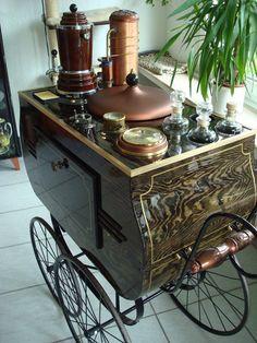Aetherfunde, Steampunk Tea Cart