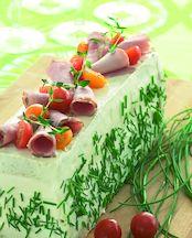 Voileipäkakku (kinkku-kasvis)