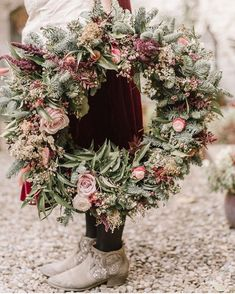 """2,980 Likes, 50 Comments - #underthefloralspell (@underthefloralspell) on Instagram: """"Stunning wreath by @annabelbeeforth created at a workshop hosted by @shepherdspursewhitby, captured…"""""""