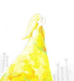 Girl in gold, Laura Gómez