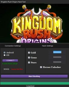 Kingdom Rush Frontiers Hack Tool No Survey Free Download (Updated)