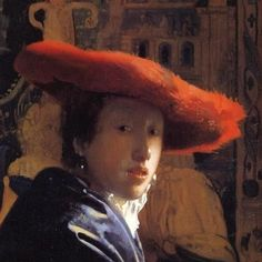Johannes Vermeer (Dutch, Dutch Golden Age, 1632-1675): Girl with the Red Hat, c. 1665/1666. Oil on panel