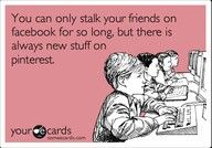 lol I totally feel like Im reading someones journal when Im on facebook or stalking them hahaha