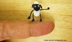 Miniature Crocheted Animals