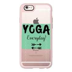 iPhone 6 Plus/6/5/5s/5c Case - Yoga Everyday $10 OFF with code- uii86r ($40) ❤ liked on Polyvore featuring accessories, tech accessories, iphone case, apple iphone cases, iphone hard case and iphone cover case