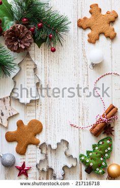 Emporte-pièce set Noël Crème emporte-pièce bonhomme de neige flocon de neige Ilex
