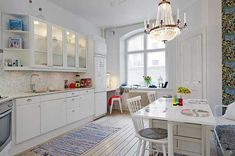 Use of Details In Interestingly-Shaped Swedish Apartment #apartment
