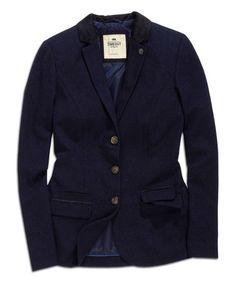 Look at this #zulilyfind! Ocean Deep Wool-Blend Blazer by TIMEOUT #zulilyfinds