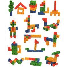Multicubes - jeu de construction matériel éducatif Nowa Szkola